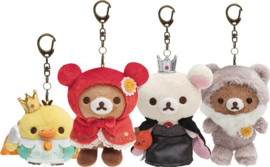 Rilakkuma's Fairy Tales keychains - pick your favorite