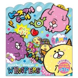 Stickerzakje Whoopers