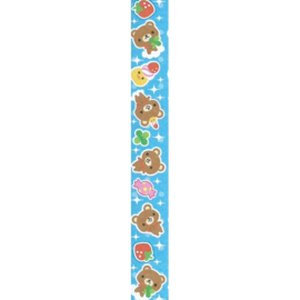 LS-066 Lucky stars papier Honey Time Blue Bear