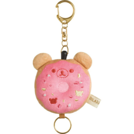 San-X Rilakkuma Deli Donut keychain