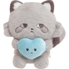 Kokoro Araiguma Hugs fill your Heart knuffel | Ashi Araiguma