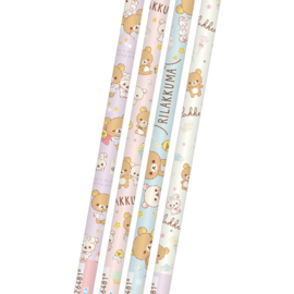 Rilakkuma Pajama Party 2B pencils - pick your favorite