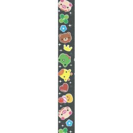LS-068 Lucky stars papier Honey Time Cute Animals