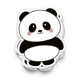 XL vinyl sticker | panda