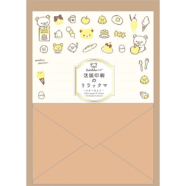 Briefpapier set Rilakkuma food