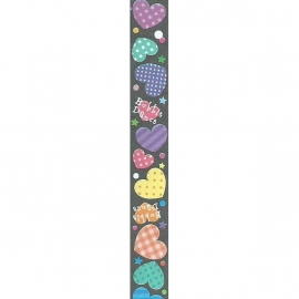 LS-030 Lucky stars papier Bubble Dance Hearts