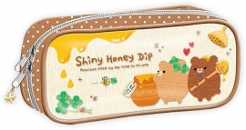 Shiny Honey Dip pen pouch