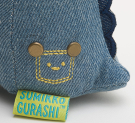 Sumikkogurashi Coordinate Denim Tokage (key)chain