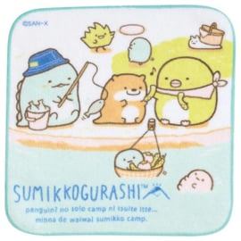 Sumikkogurashi Kawauso to Sumikko Camp doekje fishing