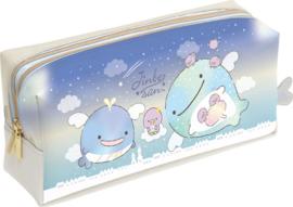 Pen pouch Jinbesan Starry Sky Penguins