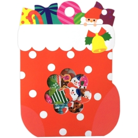 Christmas Stocking sticker sack