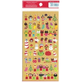Christmas sticker sheet Wonderful Friends