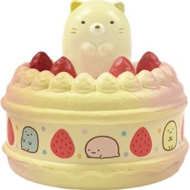 Sumikkogurashi Neko taart squishy