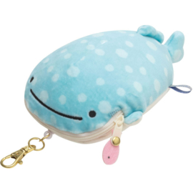 Jinbesan & Friends pouch and pass case - pick your favorite