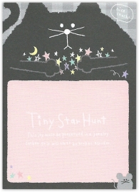 Memoblok klein Q-Lia Tiny Star Hunt