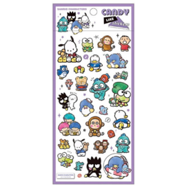 Sanrio Characters candy like stickers | purple