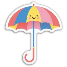 Magneet kawaii paraplu