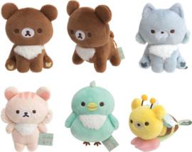 Chairoikoguma's Friends tenori plushies - pick your favorite