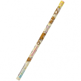 San-X Rilakkuma Motto Nonbiri Neko 2B pencil light yellow