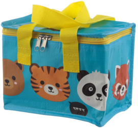 Koeltas Cute Animals blauw