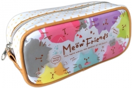 Pen pouch Meow 2 Friends