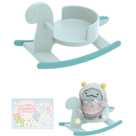 Sumikkogurashi rocking horse for tenori plush