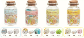 Sumikkogurashi Neko Siblings erasers in a bottle - pick your favorite