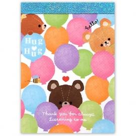 Memo pad small Q-Lia Hug Hug