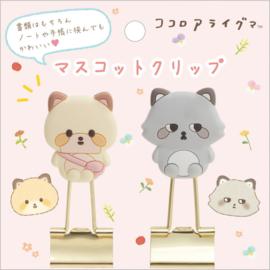 Papierklemmen Kokoro Araiguma & Ashi Araiguma