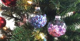 Lucky stars kerstballen maken