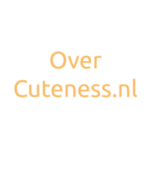 Over Cuteness