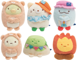 Sumikkogurashi Otter & Sumikko Camp tenori plush - pick your favorite