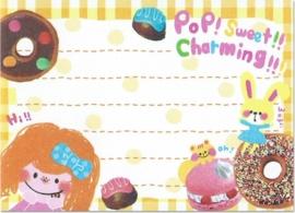 Memoblok klein Crux Pop Sweet Charming