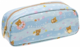 Pen pouch Rilakkuma Summer Vacation
