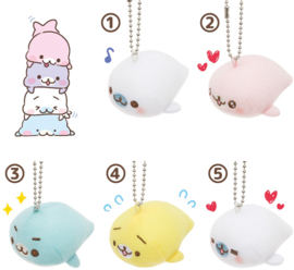 Mamegoma Yurumame Life plush charm - pick your favorite