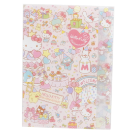 A4 insteekmap Sanrio Characters Hello Kitty 45th Anniversary