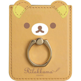 Rilakkuma's Fairy Tales smartphone ring with pass holder