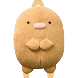 Tonkatsu plush backpack