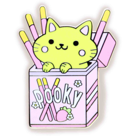 Enamel pin Pocky Cat