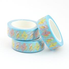Washi tape spekjes