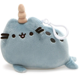 Pusheen Narwhal backpack key clip