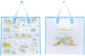 Grote tas | Sumikkogurashi Pajama Party | lichtblauw