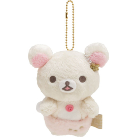 Korilakkuma Fluffy Angel plush hanger
