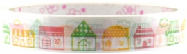 Deco tape medium Sweet Houses