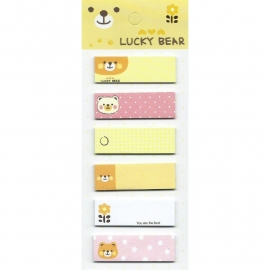 Sticky notes Lucky Bear