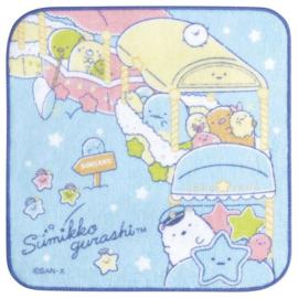 Sumikkogurashi Starry Sky Walk doekje | blauw