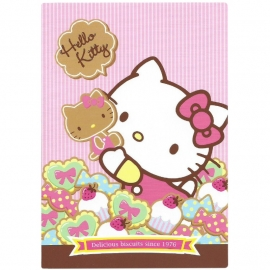 Postcard Hello Kitty Biscuit