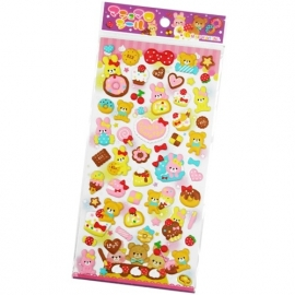 Puffy stickervel Cutie Sweets