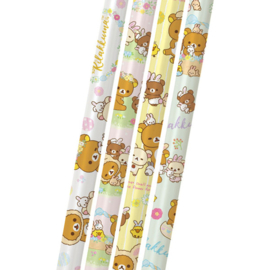 Rilakkuma Rabbit Flower Forest 2B pencils - pick your favorite