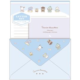 Briefpapier set Sanrio Characters | blauw